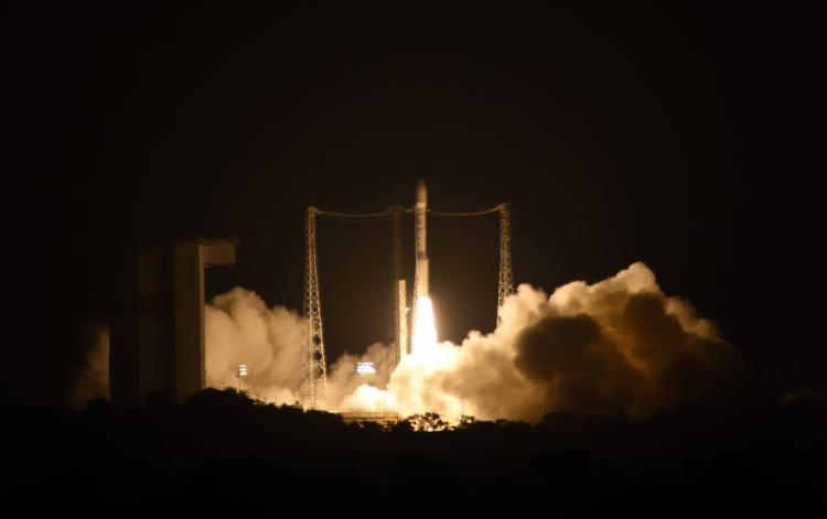 LISA Pathfinder lift-off on Vega VV06