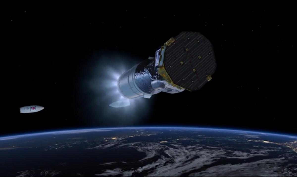 LISA Pathfinder launcher separation #3