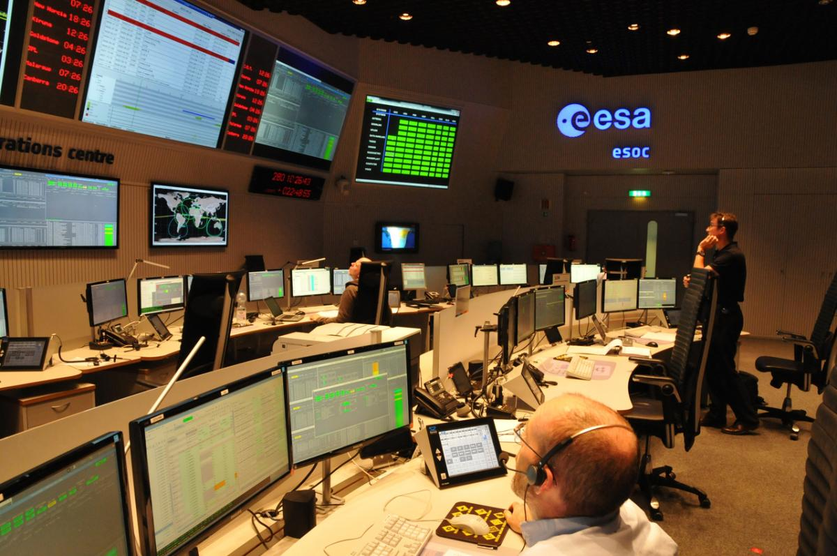 Mission training at ESOC