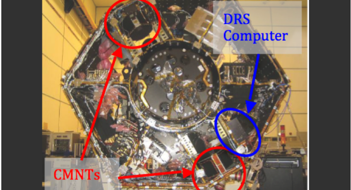 ST7 Components on the Spacecraft